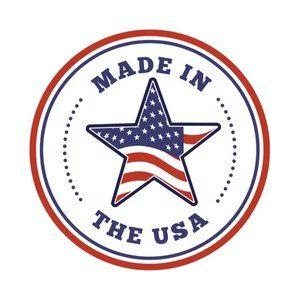 Half It Shirts - American Flag Lips 4th of July Patriotic USA Shirt